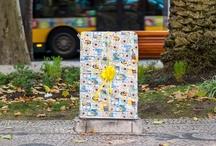 urban art / street art / urban art, street art, art, kunst, public art, arte urbano, streetart  / by raumstadtion