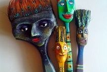 Quirky Sculptures & RELiefs / by Marge Wickes
