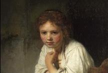 Art Pt.-Rembrandt / by Martina Inngauer