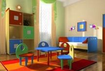 kids space. / bedroom & playroom inspiration & ideas for the little ones. / by Amanda Bain