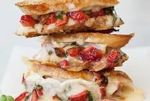 Sandwiches, Sandwich Ingredients, and Other Lunch Items / by Brittani Dyess