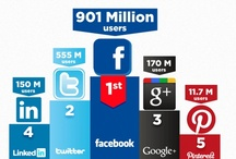 Social Networks / App logos and infographics on mainstream social networks / by Michael J.D. Warner