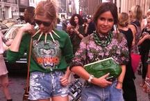 Se visten bien bonito / El estilo en las calles. / by Kari Estrada