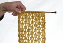 crafty - knit and crochet / by Emily Dombeck