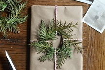 gifts + wrapping / by Emily Dombeck