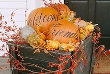 Autumn Adoration  / Crafts, decor, printables, recipes... Halloween & Thanksgiving inspirations.  / by Tiffany Schoenborn