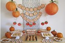 Fall/Lil Pumpkin Baby Shower / Themes, games, decor & gift inspirations for baby showers  / by Tiffany Schoenborn