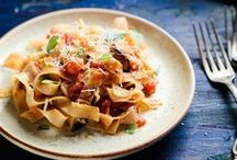Pasta / Recipes with pasta, my favorite!  / by Handle the Heat   Tessa Arias