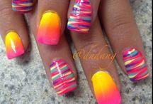 Nails And More Nails / Nails and nail art!!!! / by Kalda McCray