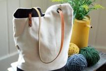 Bags totes Purses Pouches Wallets & Covers / by Tinsel Fairy