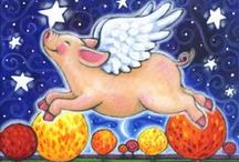 When Pigs Fly  / by Margaret Melton