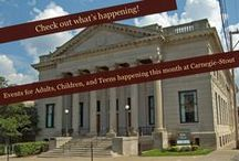 Events at the Library / by Carnegie-Stout Public Library