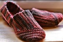 Crochet Slippers / by Becky Gilleland-Gibson