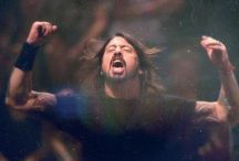 Dave Grohl & Associates / Dave Grohl is the main focus of this board, but it also includes Taylor Hawkins, Foo Fighters, Kurt Cobain, Nirvana, things pertaining to either the Foo Fighters or Nirvana.  / by Sara Elrick