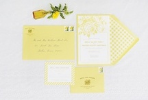 Yellow Weddings / bright and sunny yellow wedding ideas and inspiration / by Bridal Musings - Wedding Blog