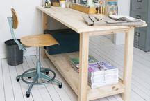 Working Space. Studio / by Vicki Li