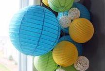 Paper Lantern Ideas / by Lori Allred {allreddesign.net}