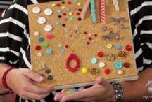 Push Pins, Decorative Pins, Tacks & Cork Boards / by Lori Allred {allreddesign.net}