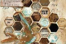 Hexagons & Honeycombs / by Lori Allred {allreddesign.net}