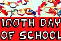 100 Days of School Ideas / by Bernadette (Mom to 2 Posh Lil Divas)