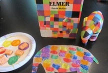 Elmer The Elephant Crafts & Activities / crafts and activities for the book Elmer the Elephant / by Bernadette (Mom to 2 Posh Lil Divas)