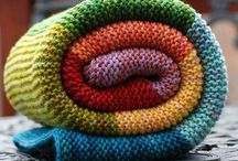 Knitted Blankets / by Meg Marcella