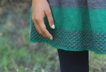 Knitted Skirts / by Meg Marcella