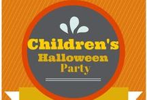 CHILDREN'S HALLOWEEN PARTY / Fun and kooky ideas for planning a safe and spooky Halloween party for the kids! / by Bellenza