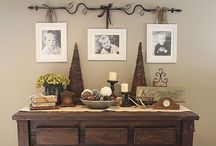 Stuff for decorating (displaying photos) / by Lori Calhoun