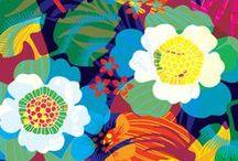 pattern: floral / by Diane Kappa Designs