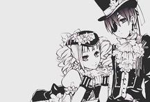 Black Butler (Kuroshitsuji) / by Crystal J
