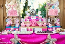 Party Ideas for the Girls / by Darling Bella