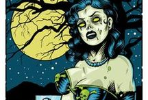my obsession with zombies / by Frankie Renea Siler