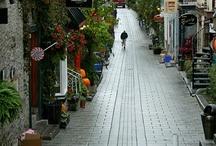 Alleys / alleyway, side street, bystreet, backstreet / by Nazrin Huseynzade