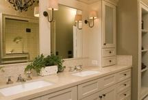 Bathroom ideas / by Bonnie Oscarson