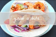 Grab a Bite... / I love food. There's not much else to be said. Find recipes, culinary ideas and more on this board. / by Chanelle Sicard