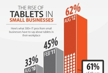 Tablets and eReaders / eReaders, Tablets, eBooks infographics and other resources / by the Web Chef