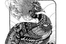INSPIRE | Peacocks / by Stephanie Mayne