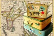 Crafts - Suitcases / by Cheryl Counts
