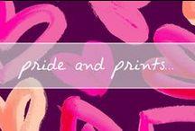 Pride & Prints... / prints I love / by Chanelle Sicard
