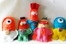 Softie Toy Tutorials / by The Crafty Crow
