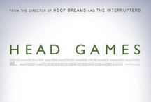 """HEAD GAMES @ SIFF Cinema / From acclaimed director Steve James (Hoop Dreams, The Interrupters), comes this revealing documentary about the silent concussion crisis in American sports. Athletes from the professional to the youth levels share their personal struggles in dealing with the devastating and long-term effects of concussions, an epidemic fueled by the """"leave everything on the field"""" culture so prominent in American sport.  / by SIFF"""