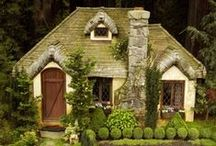 Tiny Houses, Cabins & Cottages / Living Small and Cottage Dreams / by Junque Male