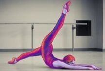 """Chroma - A Dancer's Perspective / Chroma is defined as either """"intensity of color"""" or """"freedom from white"""". Dylan Tedaldi, a Corps de Ballet member and dancer in Chroma, explores this concept in his photo series. / by The National Ballet of Canada"""