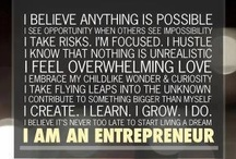 The Inspired Entrepreneur / Quotes and inspiration for living a passionate life as an entrepreneur. Every day, people are succeeding by doing what they love. Learn from them how to forge your own trails and live your legend as an Inspired Entrepreneur! .....Are you inspired or inspiring? Think you can motivate other entrepreneurs? Follow this board and tag me, @JenNext to be considered as a contributor! / by JenNext ~ Small Town Legacies ~