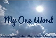 One Word 2014 / by Divas With A Purpose