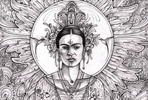 I Paint My Own Reality / ~Frida Kahlo / by Missus Sisyphus