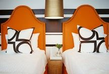 Orange / Images of orange interior design and home decor.  / by Lonny Magazine