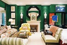 Green / Images of green interior design and home decor.  / by Lonny Magazine