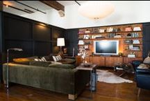Media Rooms / Design ideas and inspiration for your media room. / by Lonny Magazine